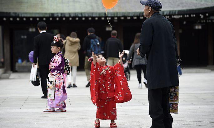 Japan Schulmädchen