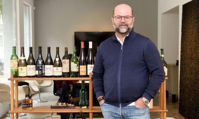 Clemens Riedl verkauft teure, seltene Weine.