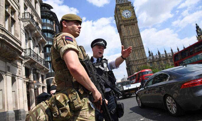 In Großbritannien herrscht derzeit die höchste Terrorwarnstufe.