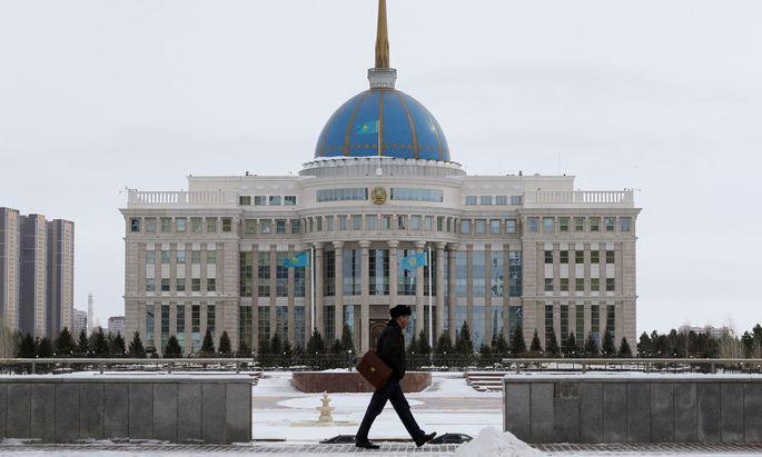 Die Hauptstadt Von Kasachstan
