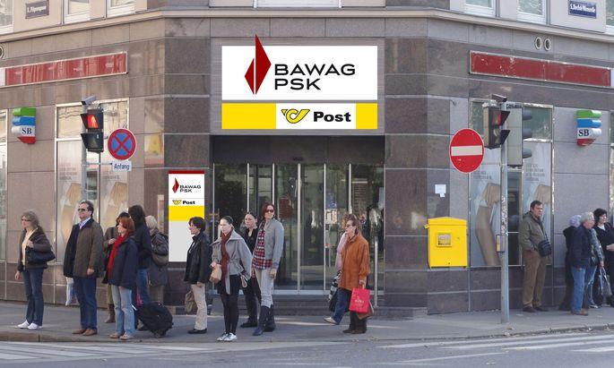 Bawag und Post trennen sich.