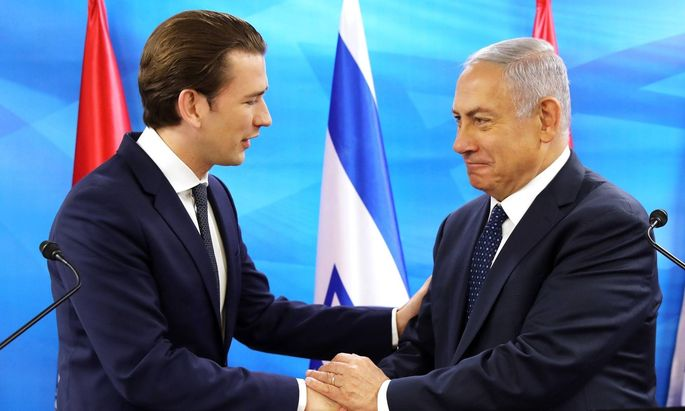 Bundeskanzler Kurz sagte Netanyahu Kampf gegen Antisemitismus zu