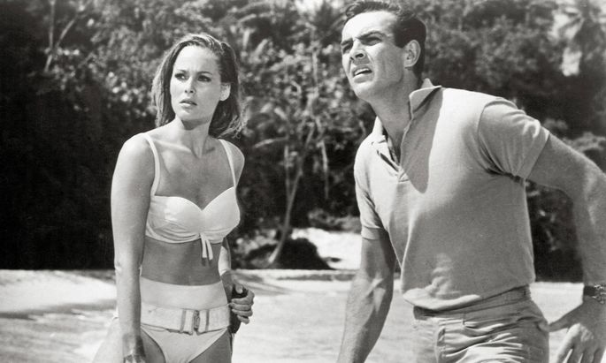 Ursula Andress und Sean Connery 1961.