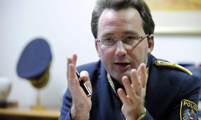 Archivbild: Polizeipräsident Gerhard Pürstl im Jahr 2011