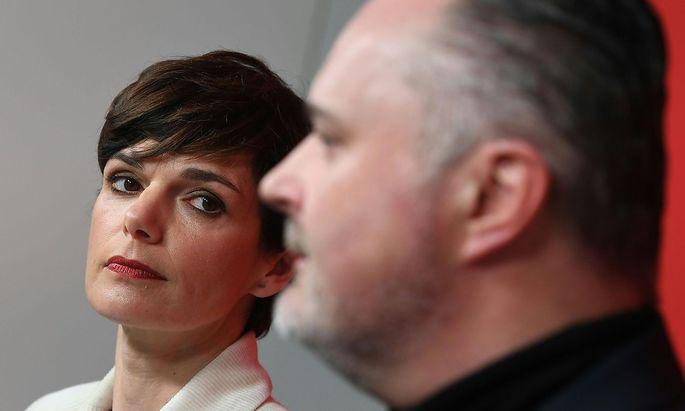 Archivbild: Pamela Rendi-Wagner und Hans Peter Doskozil