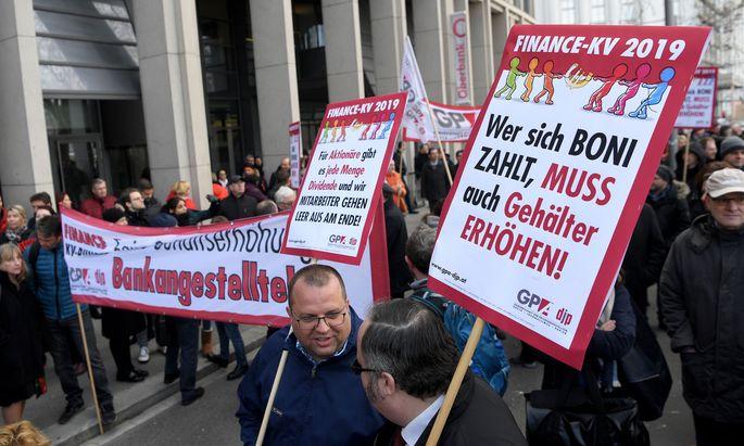 BANKEN-KV: VERSAMMLUNG DER WIENER BANKANGESTELLTEN