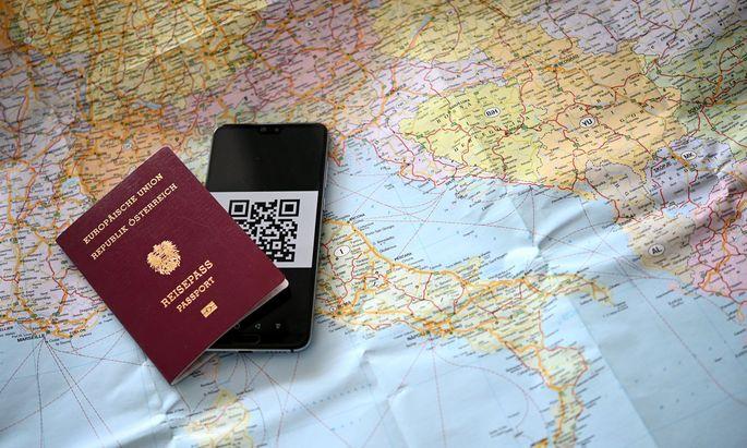 Mit dem Grünen Pass soll das Reisen innerhalb der EU erleichtert werden (Symbolbild)