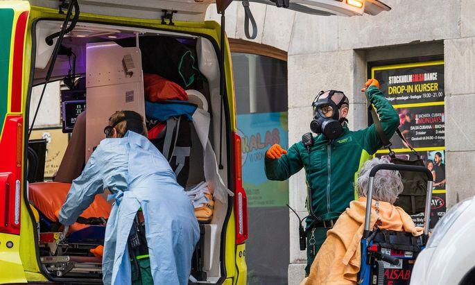 Krankentransport in Stockholm
