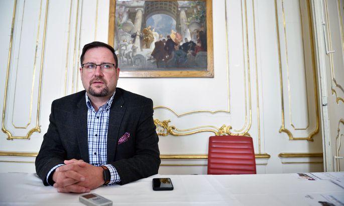 Christian Hafenecker, Fraktionsführer der FPÖ im Ibiza-U-Ausschuss