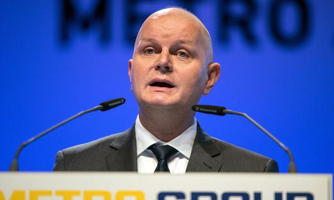 Metro-Chef Olaf Koch bekräftigt seine Prognose für das Gesamtjahr