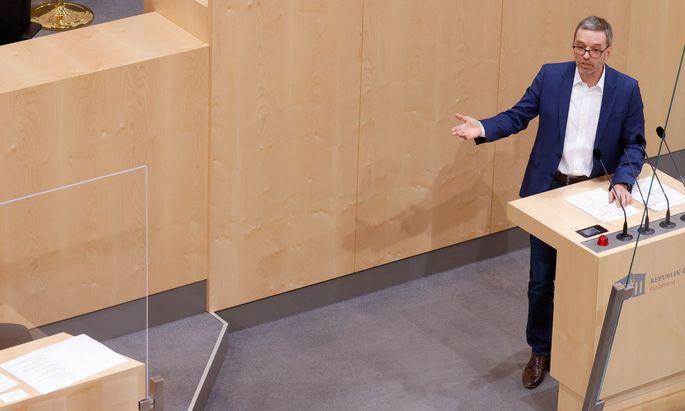 Nach der Teilnahme an einer Corona-Demo drohen FPÖ-Klubchef Kickl Konsequenzen.