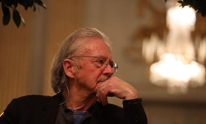 Peter HANDKE Pressekonferenz in Stockholm Stockholm, 06. 12. 2019 Peter HANDKE - Nobelpreis 2019 *** Peter HANDKE Press