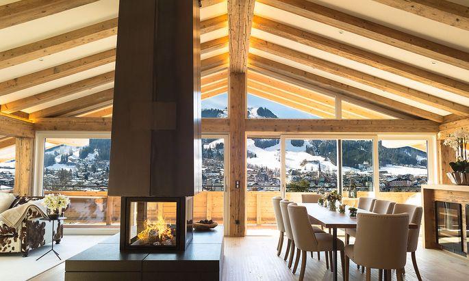 Penthouse in Kitzbühel von Living de Luxe.