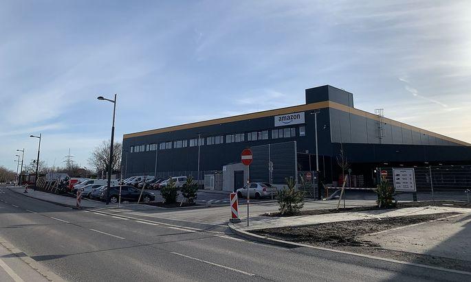 Neues Amazon-Verteilzentrum.