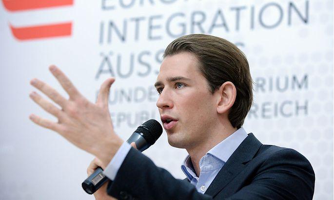 ÖVP-Integrationsminister Sebastian Kurz