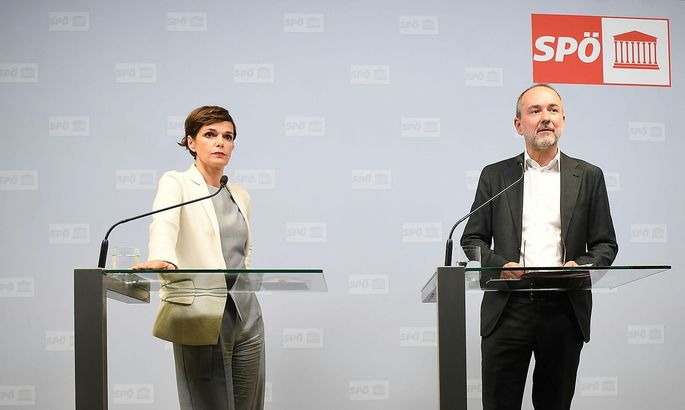 SPOe-PRAeSIDIUMSSITZUNG / PRESSEKONFERENZ: RENDI-WAGNER / DROZDA