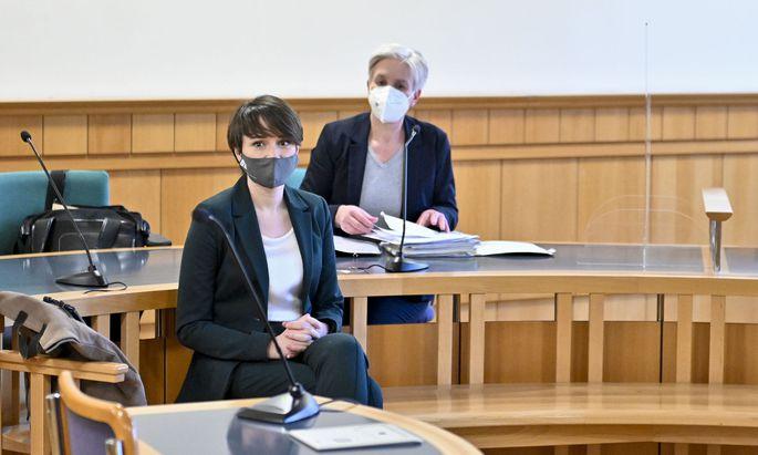 Klubobfrau Sigrid Maurer und Anwältin Maria Windhager
