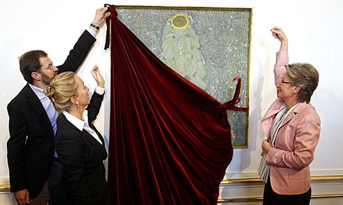 Sammler vererbt Belvedere zwei
