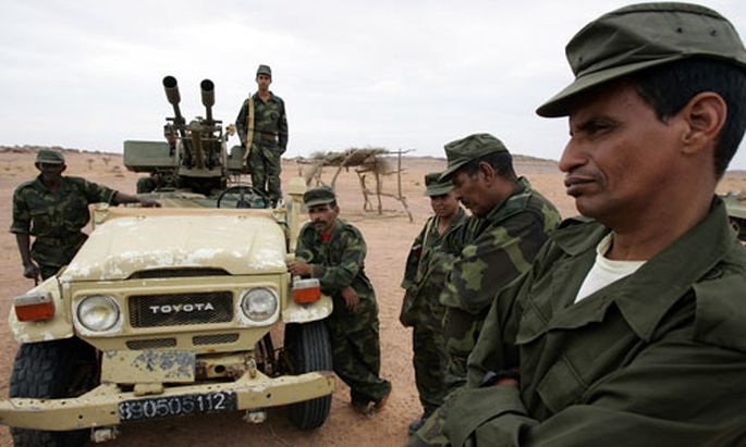 Soldiers from Western Sahara