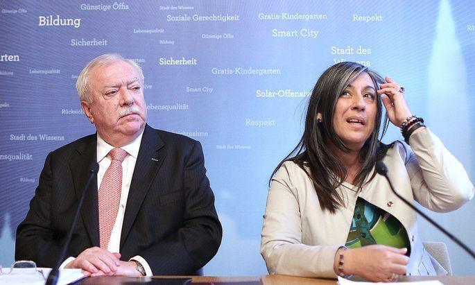 Michael Häupl und Maria Vassilakou