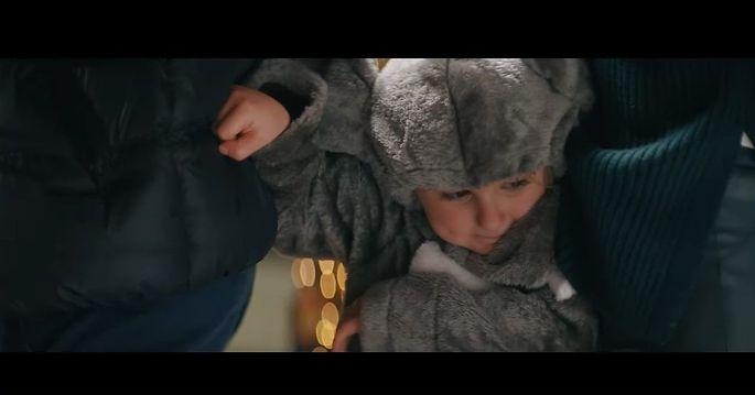 Der Babyelefant in der jüngsten Kampagne von Regierung und Rotem Kreuz