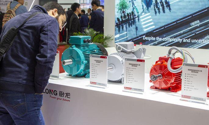 Wolong-Motoren auf der Expo in Shanghai: Der chinesische Elektromotoren-Hersteller hat die österreichische ATB aufgekauft – und dreht sie jetzt zu.