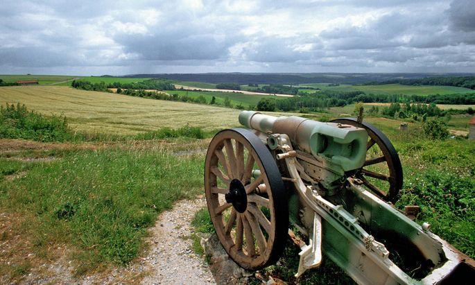 Der Höhenzug Chemin des Dames war eines der umkämpftesten Gebiete im Ersten Weltkrieg.