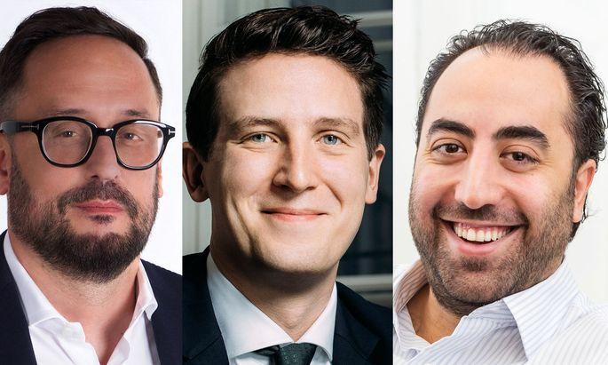 """Rechtsanwälte Martin Schiefer, Matthias Brand, Keyvan Rastegar: kundenorientierte Kanzleikonzepte ohne """"ständische, altmonarchische"""" Aura."""