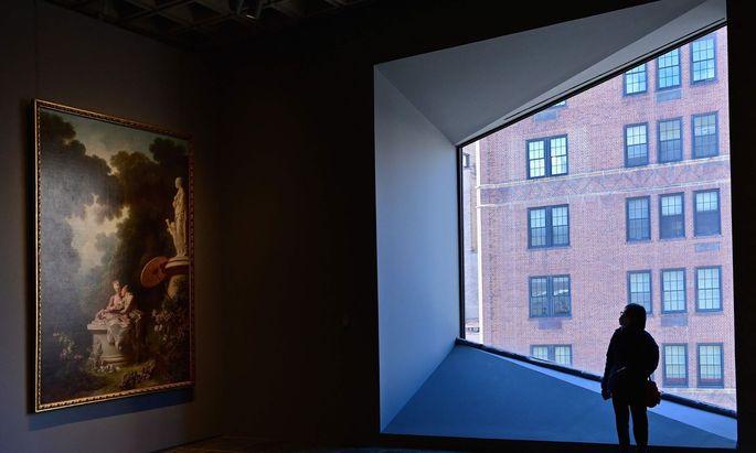 Beton-Minimalismus von Marcel Breuer statt getäfelter Prachtvilla: Die Alten Meister der New Yorker Frick Collection haben eine temporäre neue Heimat.