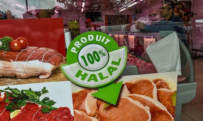 Halal-Supermarkt in Lille