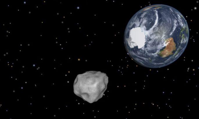 Asteroid rast Freitag 2040