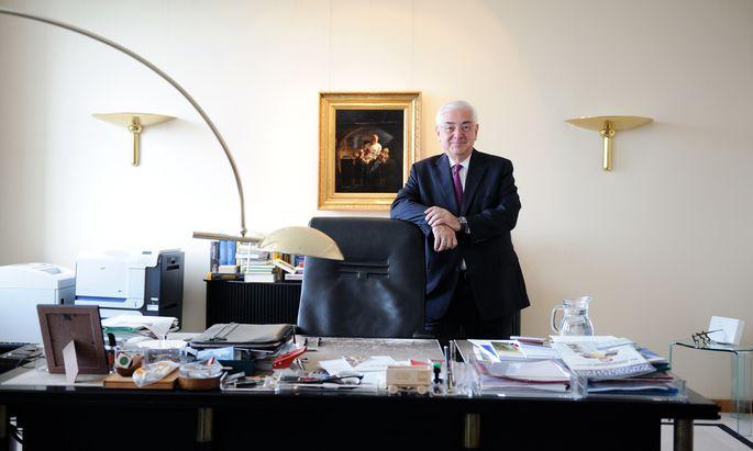Walter Rothensteiner ist seit 23 Jahren Casinos-Aufsichtsratspräsident. Die aktuelle Krise des Konzerns meistert er aber eher nicht so routiniert.