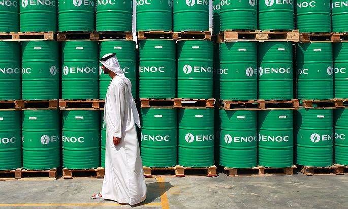 Inauguration Of Emirates National Oil Co. Plant