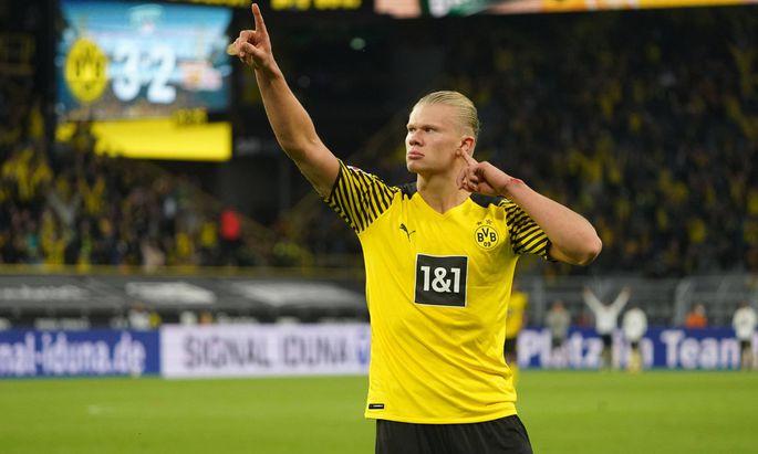 19.09.2021, Fussball, Bundesliga, Saison 2021/2022, 1. Bundesliga, Borussia Dortmund- 1.FC Union Berlin , Dortmund , Er