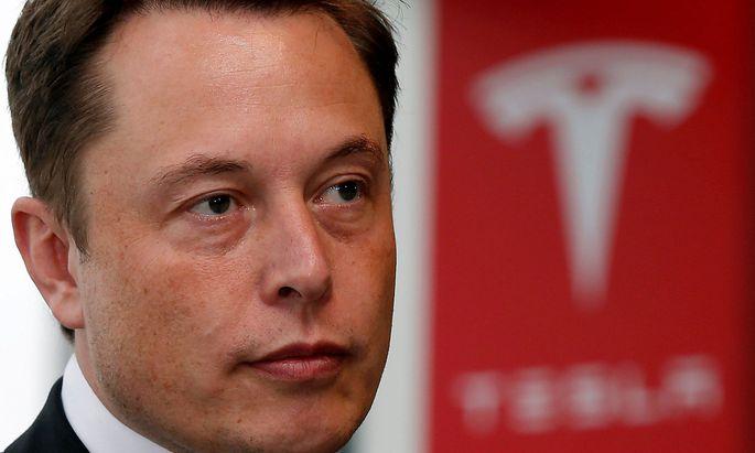 Tesla-Chef Elon Musk wird wohl die hochgesteckten Ziele verfehlen.