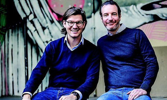 Valentin Stalf und Maximilian Tayental haben N26 gegründe