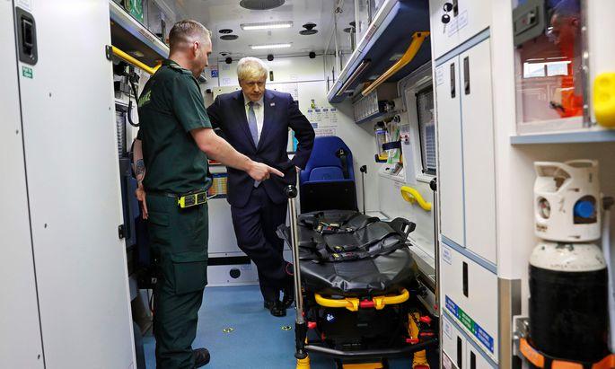 Premier Boris Johnson bereitet Großbritannien auf einen Frontalzusammenstoß mit der EU vor.