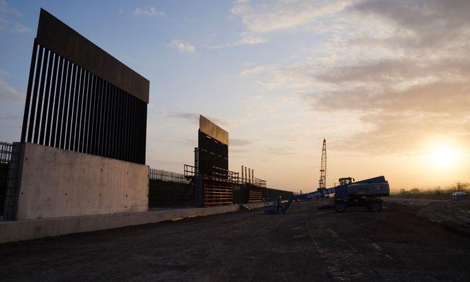 Trumps Mauer zu Mexiko wird mit 3,5 Milliarden Euro weitergebaut