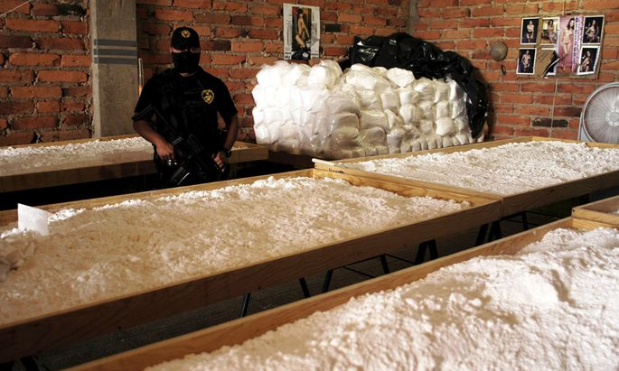 Mexiko Drogenbekaempfung Verborgenen