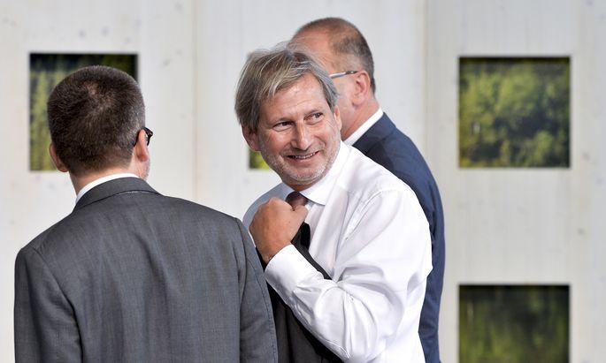 Johannes Hahn startet in seine dritte Amtszeit als EU-Kommissar.