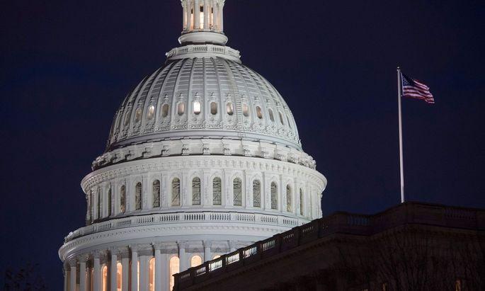 Das Kapitol, Sitz des Kongresses, in Washington D.C.