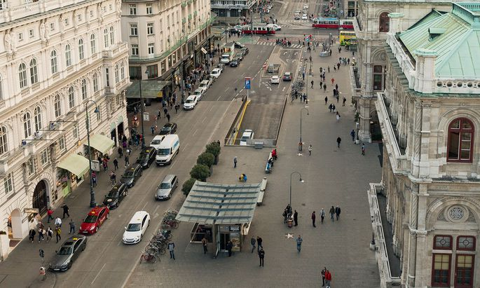 Künftig könnte nicht nur die Kärntner Straße autofrei sein.