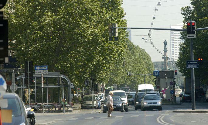 Die grüne Bezirksvorsteherin Uschi Lichtenegger will Tempo 30 auf der Praterstraße durchsetzen.