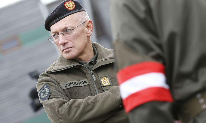 Generalstabschef Othmar Commenda fühlt sich von den Russen hintergangnen.