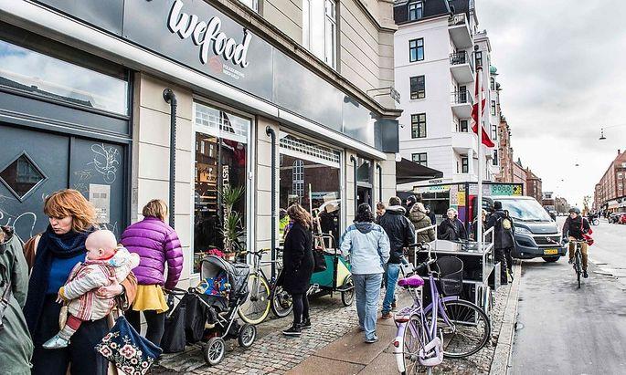 Wefood ist der erste Supermarkt dieser Art in Europa.