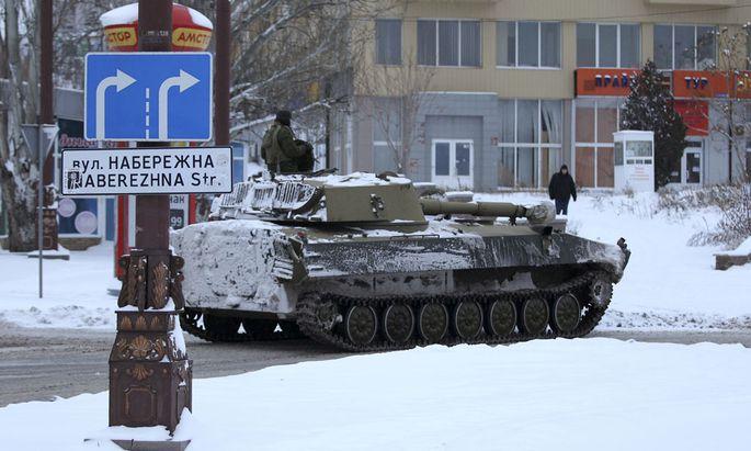 Seit Montagabend wird am Flughafen Donezk nicht mehr geschossen.