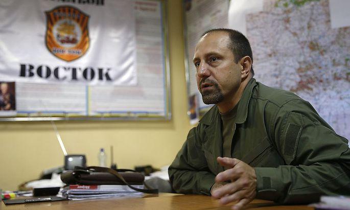 Rebellen-Kommandant Alexander Chodakowsky gab zu, dass die Rebellen die Möglichkeit zum Abschuss von Flug MH17 hatten
