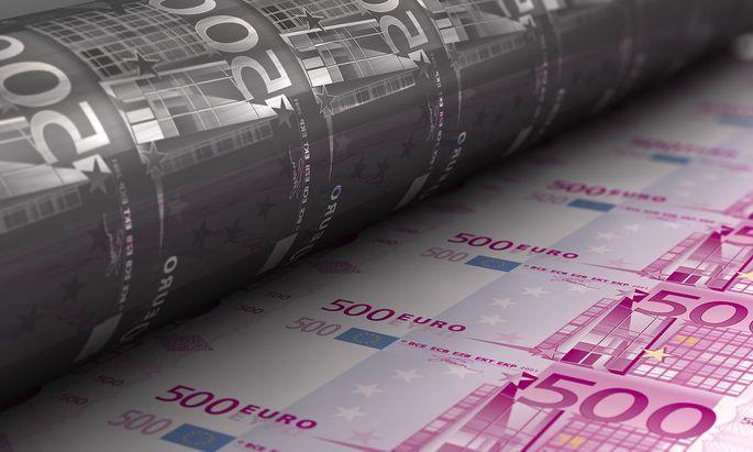 """Ungehemmtes """"Gelddrucken"""" hat in der Geschichte fast immer zu Hyperinflation geführt (Symbolbild)."""