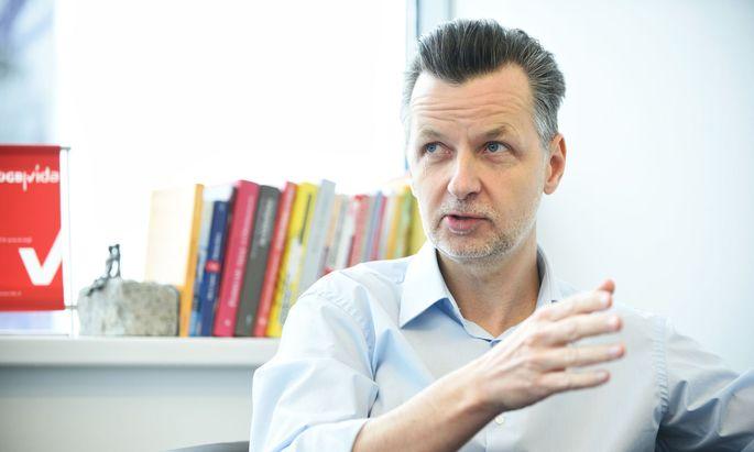 Vida-Chef Roman Hebenstreit.
