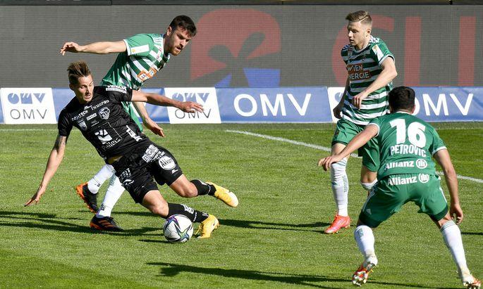 WAC gewinnt im Wiener Allianz-Stadion